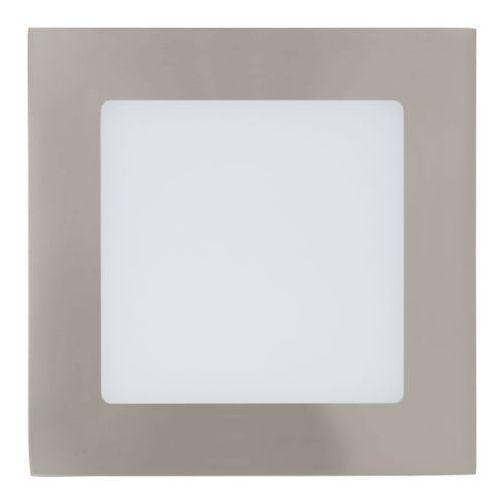 Oprawa sufitowa 1x5,5w fueva 1 12 cm - satynowy nikiel promocja!, 94522 marki Eglo