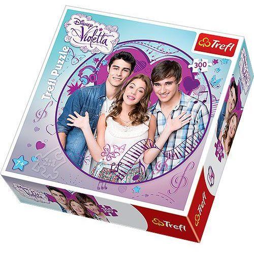 Trefl Puzzle 300 violetta i przyjaciele okrągłe (5900511391015)