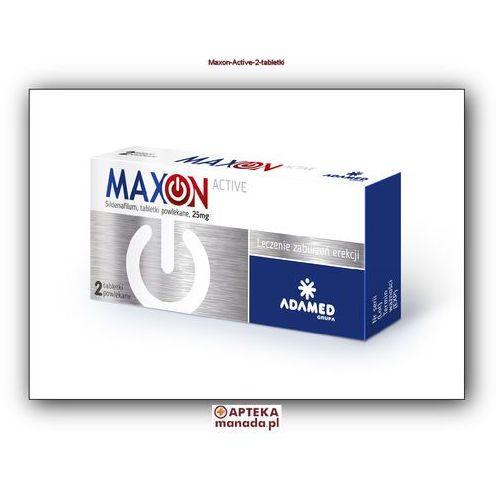 MaxOn Active 25 mg, 2 tabletki z kategorii Potencja - erekcja