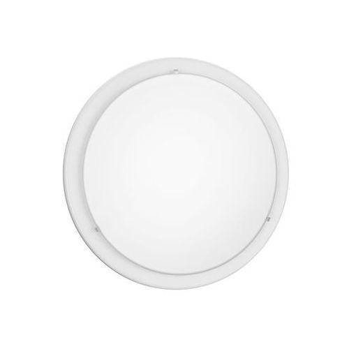 Plafon LAMPA sufitowa LED PLANET 31256 Eglo metalowa OPRAWA ścienna KINKIET LED 12W IP20 okrągły biały, kolor biały