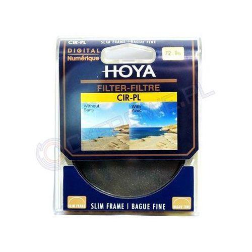filtr polaryzacyjny kołowy slim 49 mm marki Hoya