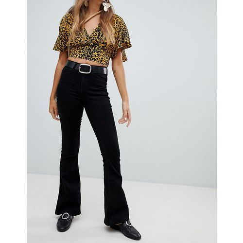 flare jeans - black, New look