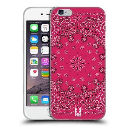 Etui silikonowe na telefon - Classic Paisley Bandana Classic Pink