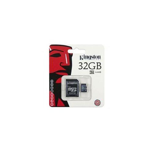 Karta pamięci micro sdhc 32gb class 10 adapter marki Kingston