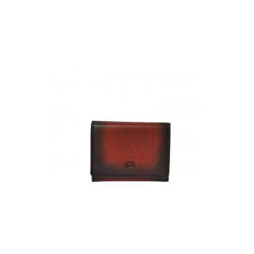 Daag Alive p-17 czerwony - skórzany portfel