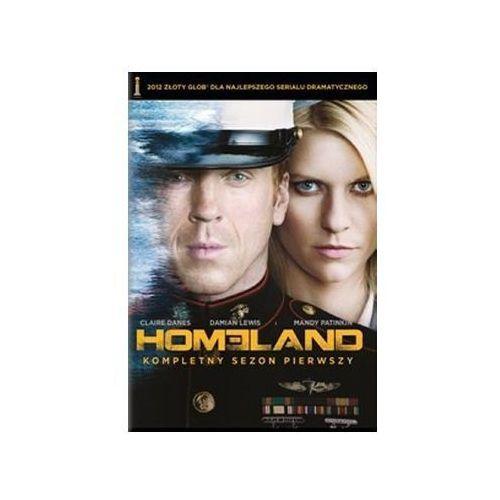 Homeland - sezon 1 ( 4dvd) (dvd) - jay roach. darmowa dostawa do kiosku ruchu od 24,99zł marki Imperial cinepix