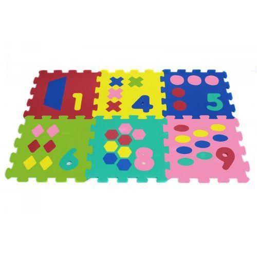 Artyk puzzle piankowe 6 elementów cyfry 0-5
