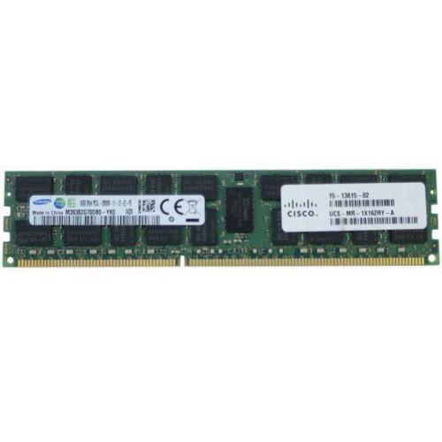 Pamięć RAM 1x16GB CISCO ECC REGISTERED DDR3 2Rx4 1600MHz PC3-12800 RDIMM LV | UCS-MR-1X162RY-A