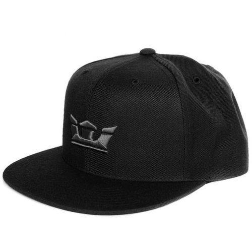 czapka z daszkiem SUPRA - Icon Snap Black (001)