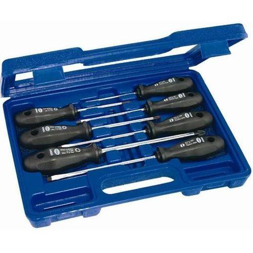 NAREX Zestaw wkrętaków PROFI LINE - 7szt, płaskie, PH w plastikowej kasecie 862401 (8590137624016)