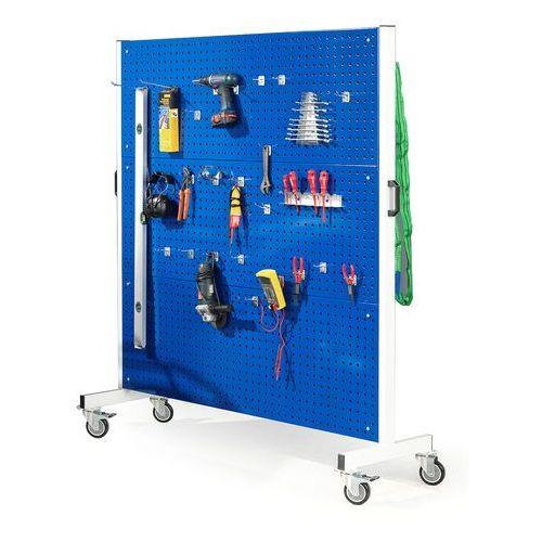 Mobilny panel narzędziowy, dwustronny, 1560x1830 mm marki Aj produkty