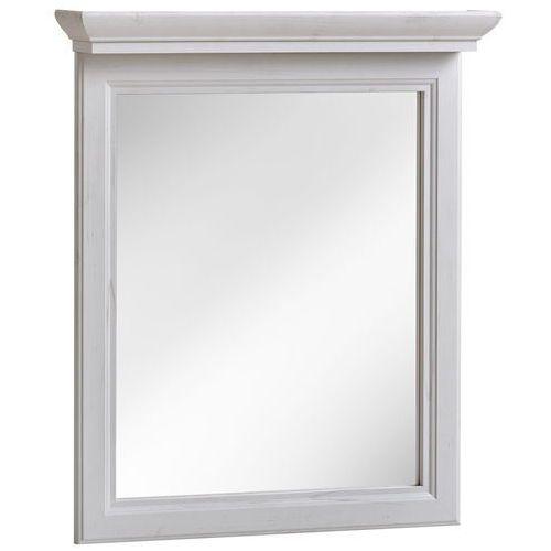 Lustro łazienkowe w ramie PALACE WHITE 840- 60 CM, kolor biały