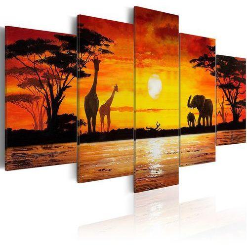 Artgeist Obraz - gorące safari