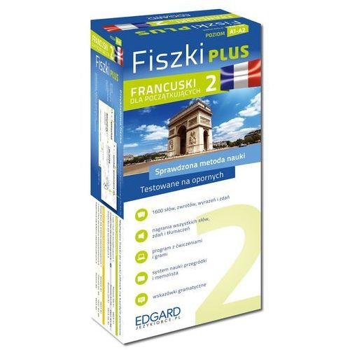 Francuski Fiszki PLUS dla początkujących 2 - Wysyłka od 3,99 - porównuj ceny z wysyłką