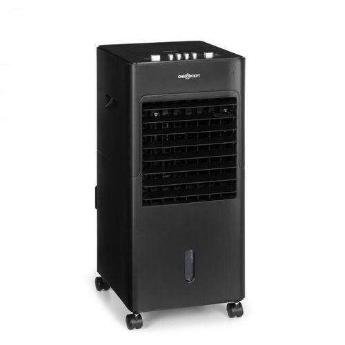 Oneconcept freshboxx, klimatyzator 3 w 1, 65w, 360 m³/h, 3 prędkości wiatru, czarny (4060656224881)