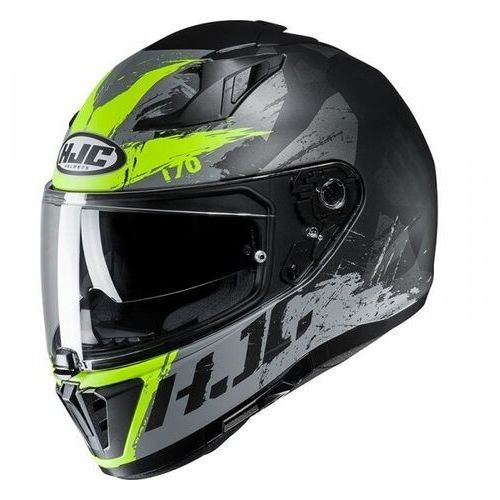 Hjc kask integralny i70 rias black/flo green