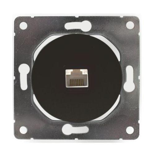 Gniazdo komputerowe soul czarny marki Dmp solid