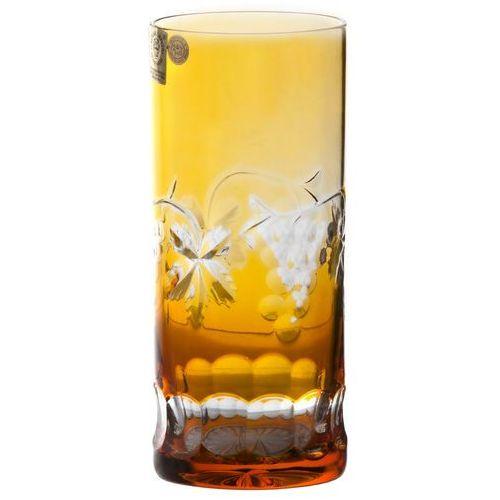 137261 szklanka winogrona, kolor bursztynowy, objętość 350 ml marki Caesar crystal