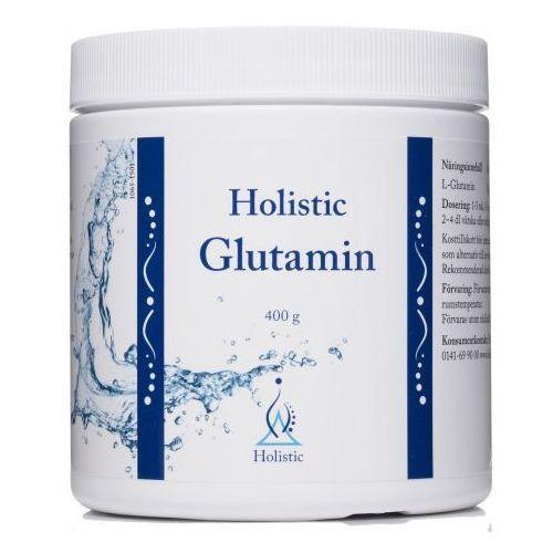 Glutamina glutamin 400g holistic marki Holistic sweden ab 0141-69 90 00, dystrybutor: naturalna medycyna sp.