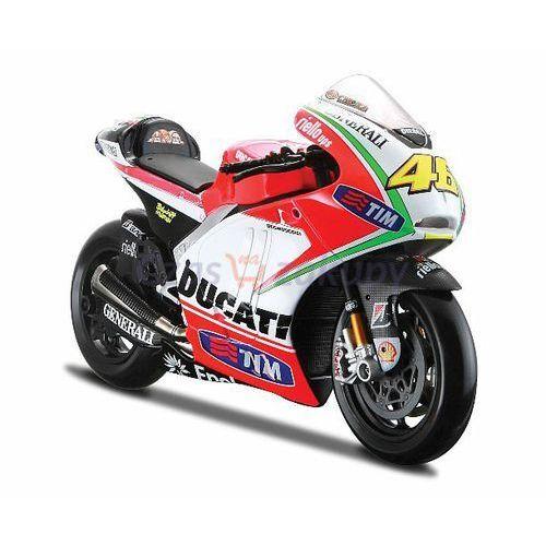 Maisto Ducati Desmosedici GP12, Rider: Valentino Rossi 1/10 - sprawdź w wybranym sklepie