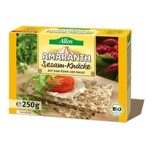 Pieczywo Chrupkie Amarantusowe z Sezamem 250g - Allos