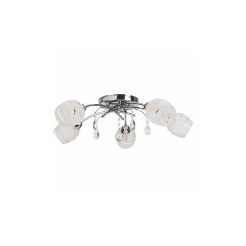 Rabalux Plafon lampa oprawa sufitowa melissa 5x60w e14 chrom 2622