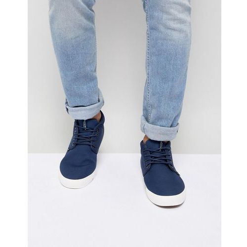 Jack & Jones Mid Top Trainer - Navy, kolor szary