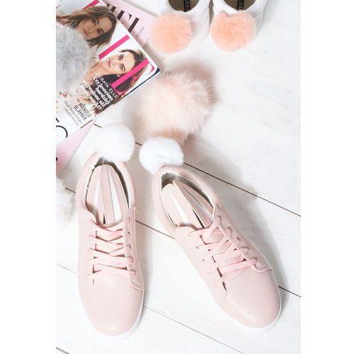 Różowe Buty Sportowe Ogee, kolor różowy