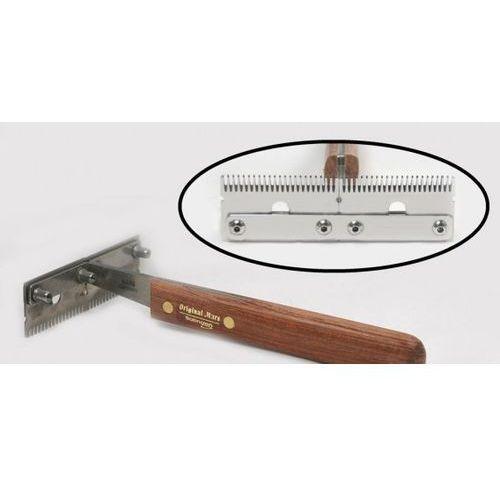 - trimm king - trymer poprzeczny do usuwania podszerstka, podwójny, szeroki marki Mars