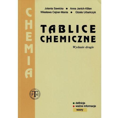 Tablice chemiczne - Jolanta Sawicka, Anna Janich-Kilian, Wiesława Cejner-Mania, Podkowa