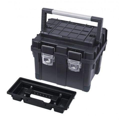 Skrzynka narzędziowa hd compact 2 czarna marki Patrol