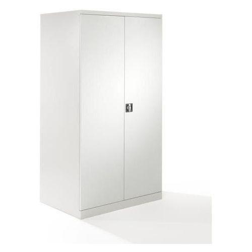 Szafa z drzwiami skrzydłowymi xxl, szer. 1000 mm, drzwi jasnoszare. zastosowanie marki Mba-system