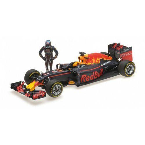 Red Bull Racing TAG Heuer RB12 #3 Daniel Ricciardo Austrian GP 2016 w/Figurine (4012138143227)