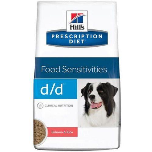 Hills  canine vet diet food sensitivities d/d łosoś 2kg