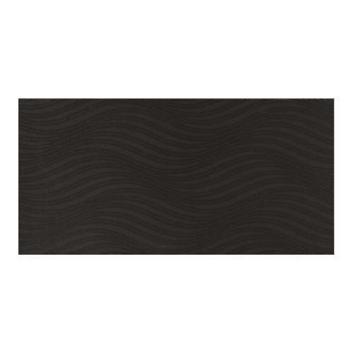 Glazura zuri fala 29,7 x 60 cm czarna 1,25 m2 marki Cersanit