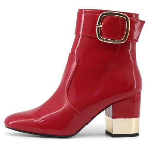 buty za kostkę damskie 39 czerwony, Laura biagiotti