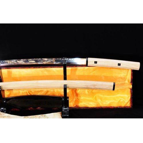 Miecz samurajski shirasaya maru stal wysokowęglowa 1095, hartowany glinką r785 marki Kuźnia mieczy samurajskich