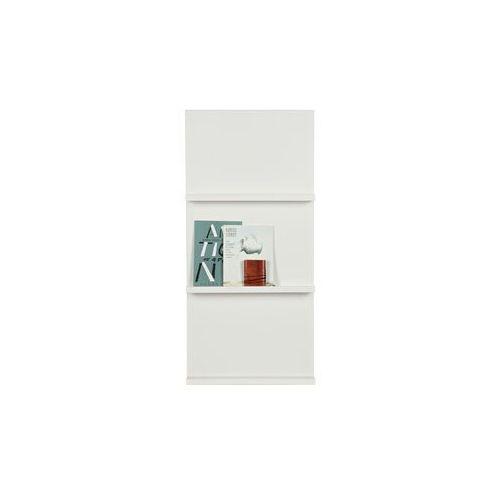 Woood Wiszące półki pokazowe w kolorze białym - Woood 350464-W, 350464-W