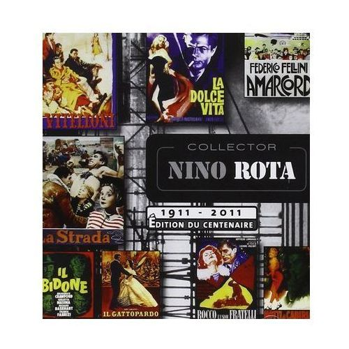 Warner music poland Collector nino rota (cd) - dostawa zamówienia do jednej ze 170 księgarni matras za darmo