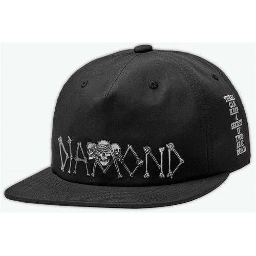 czapka z daszkiem DIAMOND - Diamond Secrets Die Snapback Black (BLK) rozmiar: OS