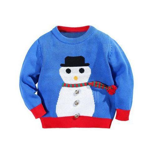 Gearbest Cartoon color block metallic pullover sweater