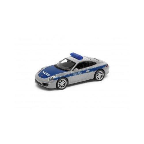 Porsche 911 carrera s, polizei 1/34 - darmowa dostawa od 199 zł!!! marki Welly