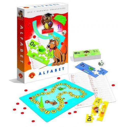 Alexander Alfabet - gra + zabawka edukacyjna wiek 4+ (5906018013153)