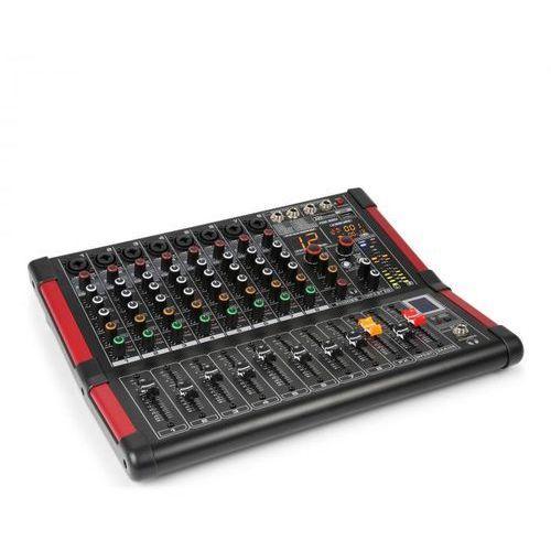pdm-m804 mikser muzyczny 8 wejść mikrofonowych 24-bitowy procesor multi fx marki Power dynamics