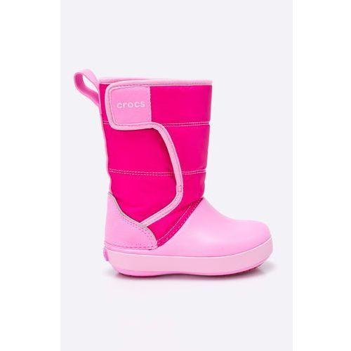 - obuwie zimowe dziecięce lodge point marki Crocs