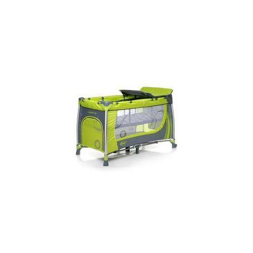 Łóżeczko turystyczne 4Baby MODERNO 2016 Zielona - produkt z kategorii- Łóżeczka turystyczne
