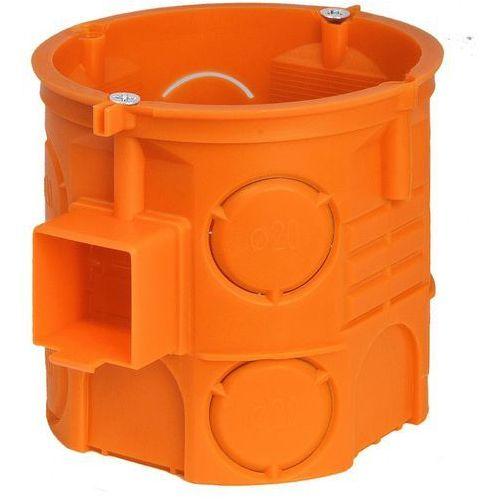 Puszka podtynkowa Simet 60mm głęboka z wkrętami pomarańczowa /110szt./ S60DFw 33069008, 33069008/SIM