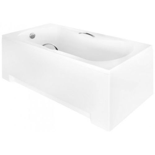 Besco Aria Plus wanna prostokątna 160x70 cm biała WAA-160-PU + syfon (5908239685911)
