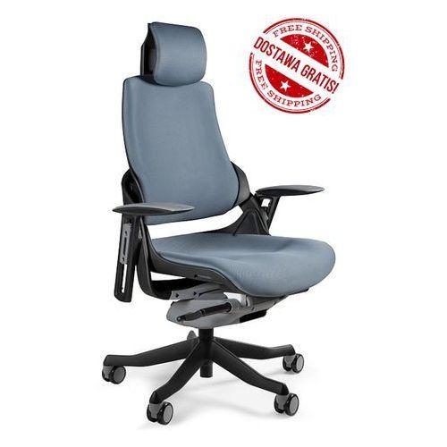 Fotel wau czarny - 18 kolorów (tkanina bl) marki Unique