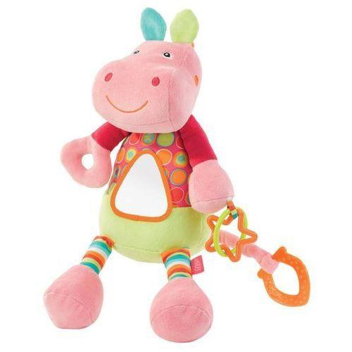 Zabawka FEHN River Gang Hipopotam wibrująca z lusterkiem ()